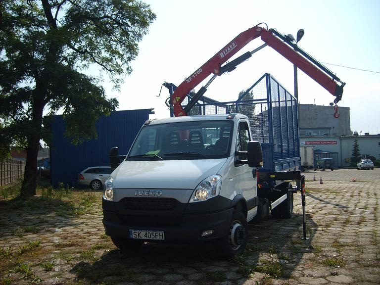 HDS na Iveco Daily