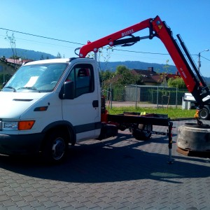 iveco daily hds befard